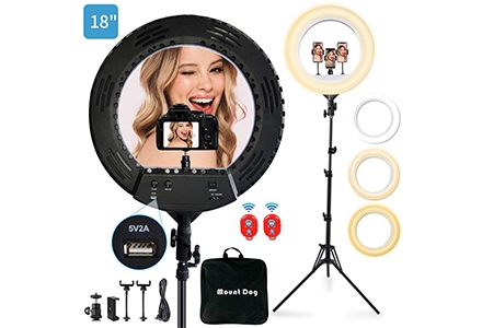 18' ring light kit