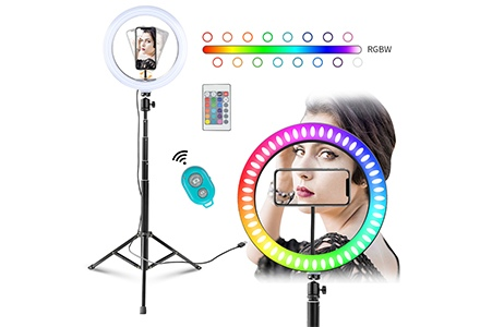 MOUNTDOG selfie ring light