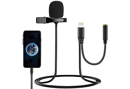 MOUNTDOG Lavalier Lapel Microphone